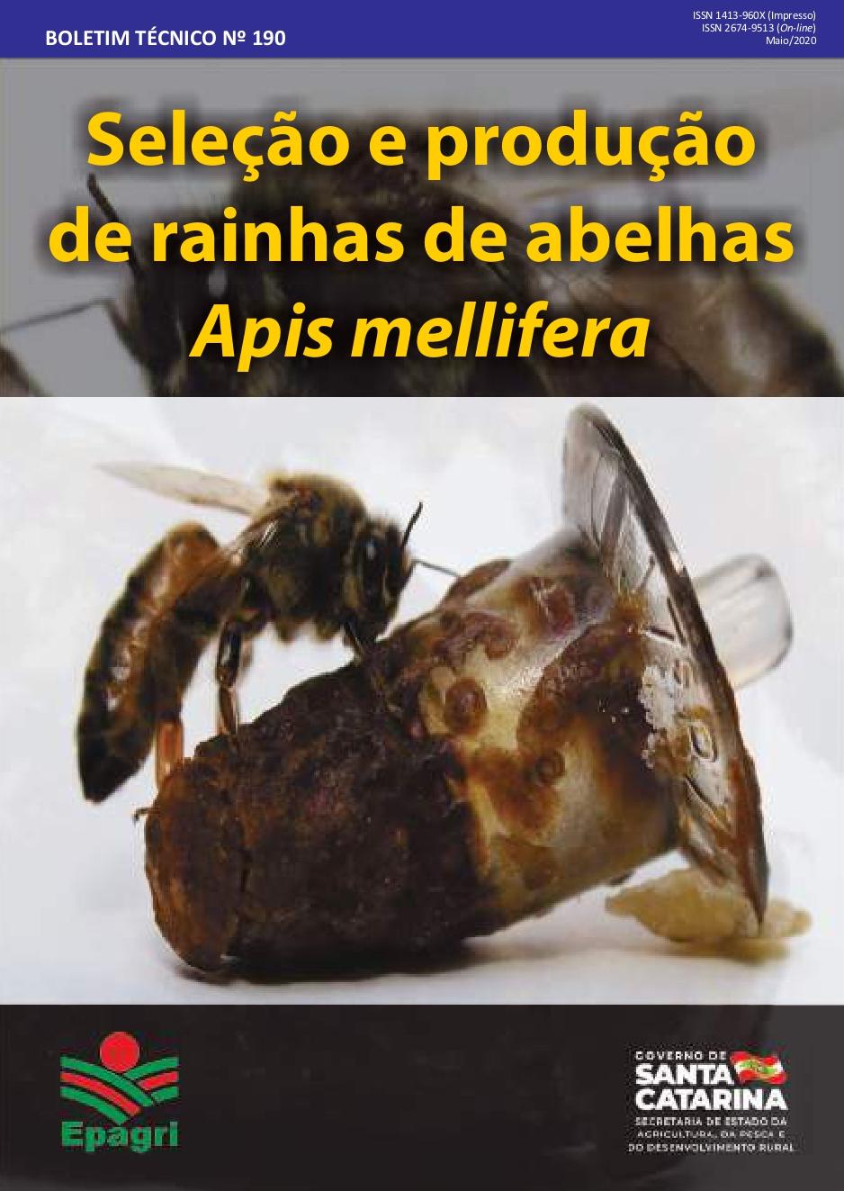 Visualizar n. 190 (2020): Seleção e produção de rainhas de abelhas Apis mellifera
