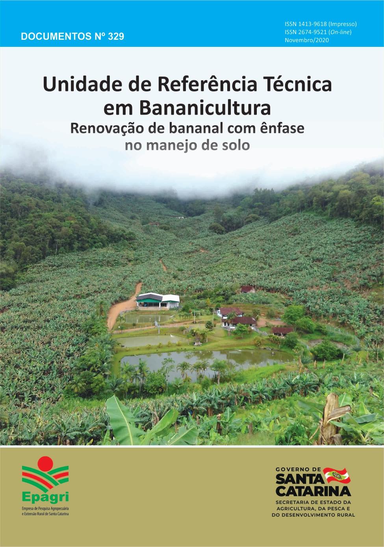 Visualizar n. 329 (2020): Unidade de Referência Técnica em Bananicultura: Renovação de bananal com ênfase em manejo de solo