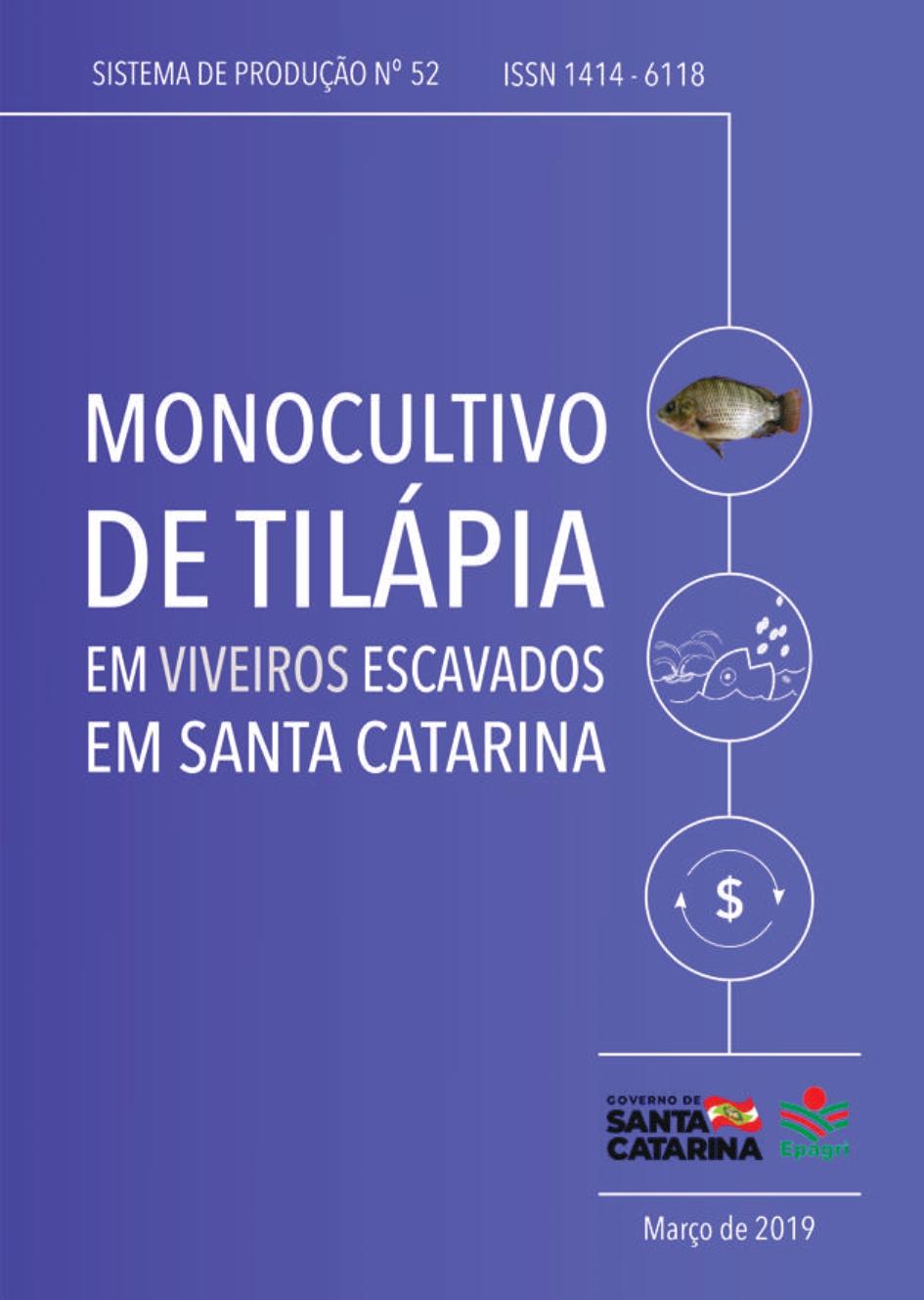 Visualizar n. 52 (2019): Monocultivo de tilápia em viveiros escavados em Santa Catarina
