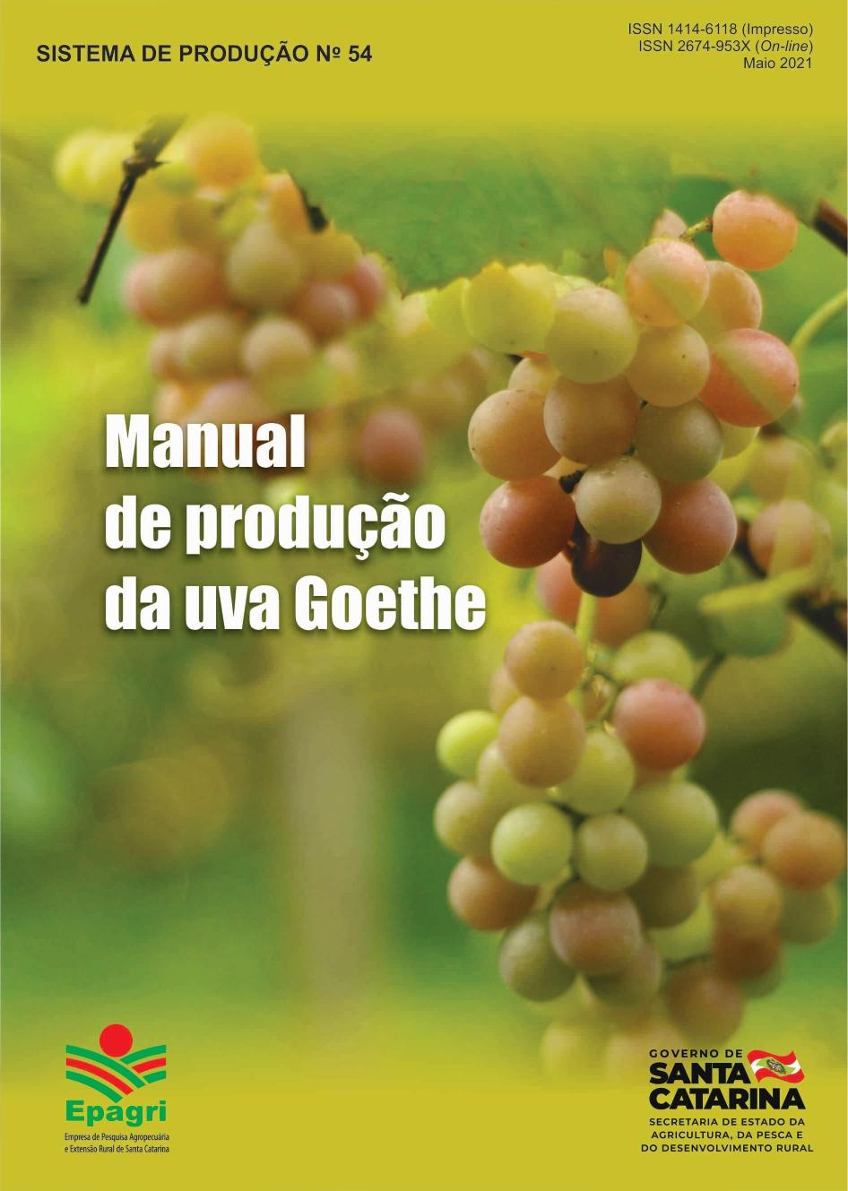 Visualizar n. 54 (2021): Manual de produção da uva Goethe